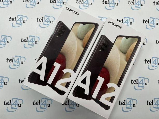 Tel4u Samsung A12 Czarny Długa35