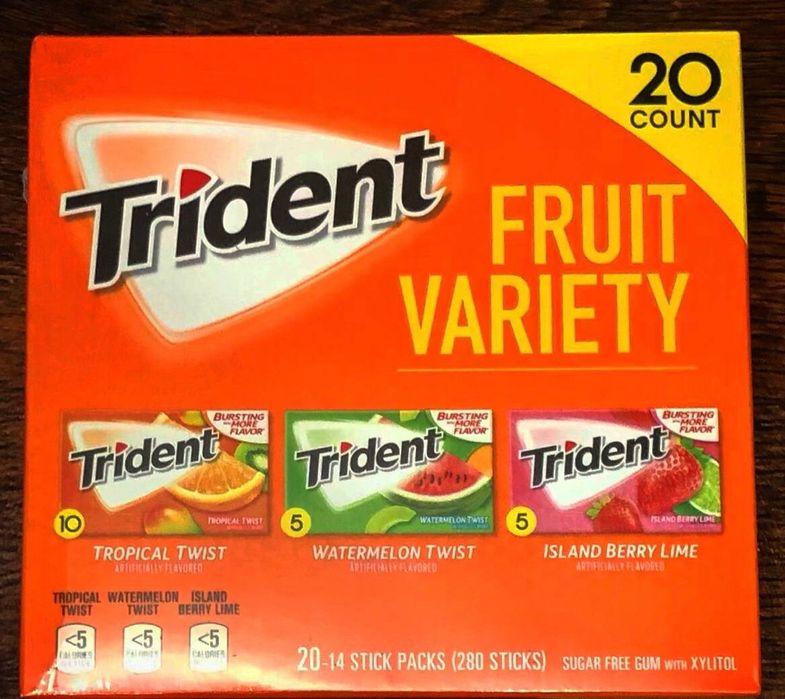 Жувачки Trident Super 20 шт в 1 Ровно - изображение 1