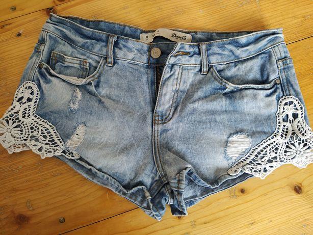 Шорти джинсові 80грн.