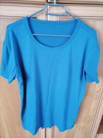 Koszulka męska XL niebieska
