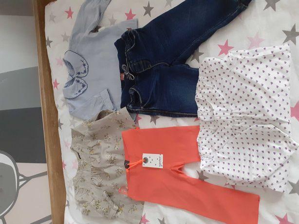 Komplet,kompleciki, bluzeczka, spodnie,leginsy 62-68
