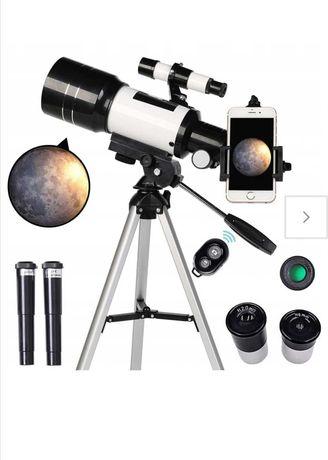 Teleskop astronomiczny nowy
