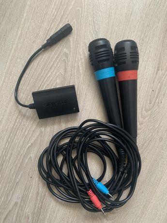Mikrofony Sing Star, ps3