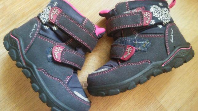 Buty dla dziewczynki rozmiar 22