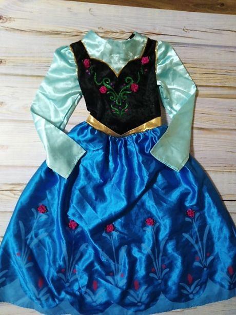 Карнавальный костюм платье принцесса Анна фирмы Disney