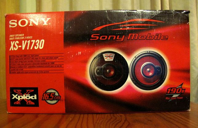 Colunas Auto Sony Xplod 190w