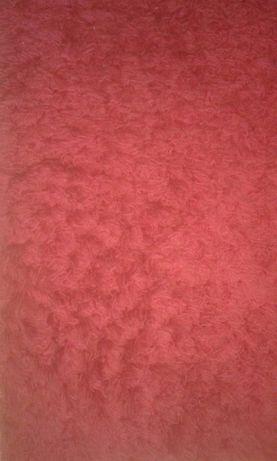 Czerwony dywan shaggy 135*190