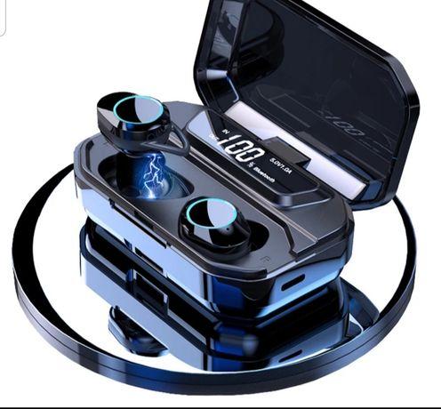 Zestaw słuchawkowy bluetooth G02 Z powerbankiem 3300mAh