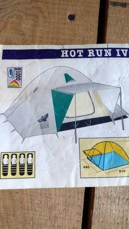 Namiot turystyczny Hot Run 4 Brunner oryginał kupiony we Włoszech