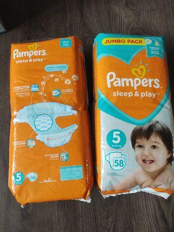Pampers sleep play 5 памперсы подгузники підгузки