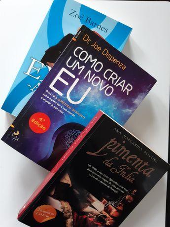 Conjunto de 5 livros