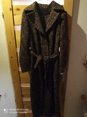 Płaszcz wełniany - długi