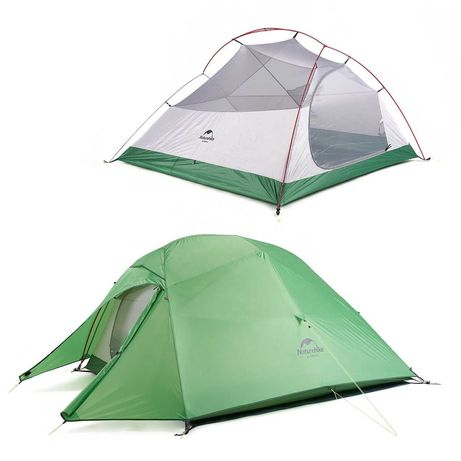 Намет тримісний Naturehike Cloud UP3 20D updated палатка трехместная