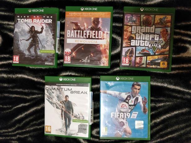 Диски Xbox One ( fifa, battlefield 1, quantum brake)