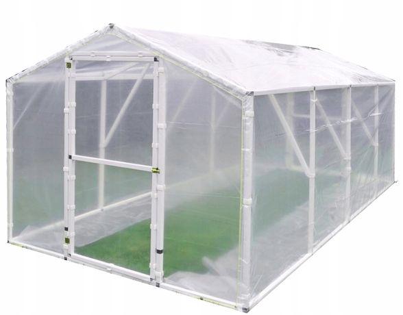 Tunel foliowy folia szklarnia ogrodowa 2x4 8,4m2 PAPRYKA (PTF6)