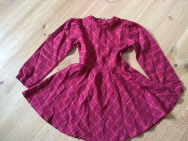 Zestaw ubrań dla dziewczynki r. 116/122