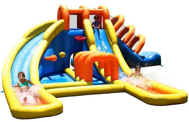 wielki dmuchany zamek dmuchaniec centrum zabaw plac zabaw