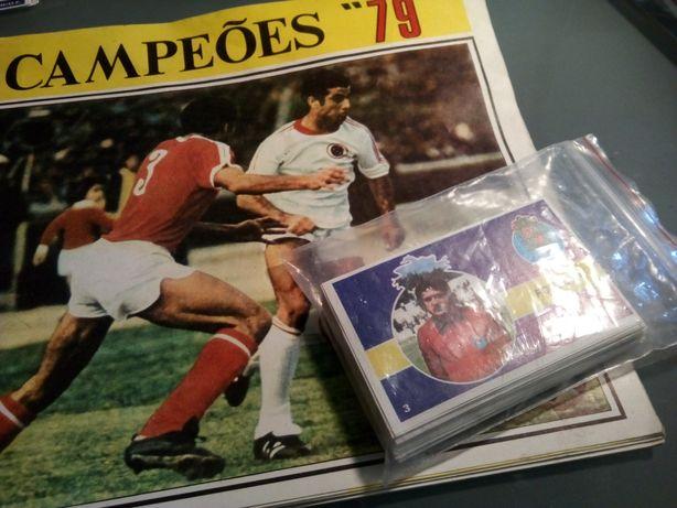 """Cromos """"Campeões 79"""""""