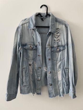Kurtka jeansowa damska H&M 34