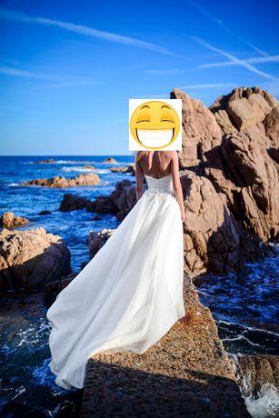 Suknia ślubna Sincerity 3816 (rozmiar 32/34)