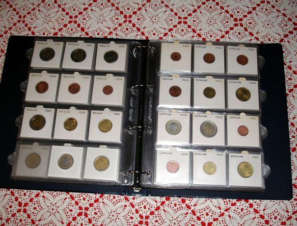 Moedas euro avulso de vários países