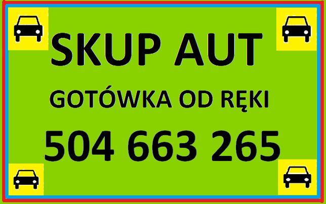 Skup Samochodów Aut Całe Uszkodzone Busy Angliki Terenowe Osobowe!
