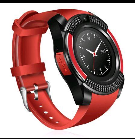 Smart Watch V8/чёрные, красные