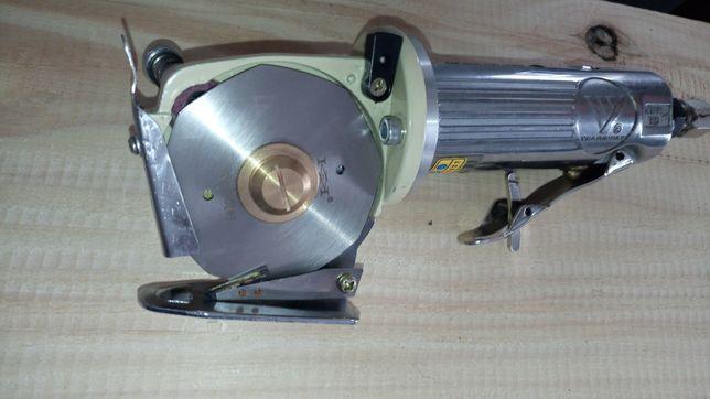 Tesoura de corte lâmina circular pneumática