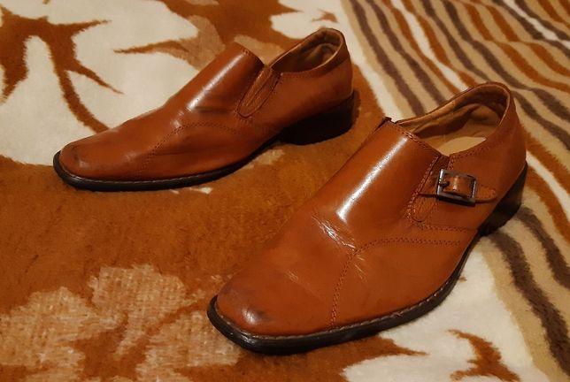Skórzane buty Gucci rozmiar 33
