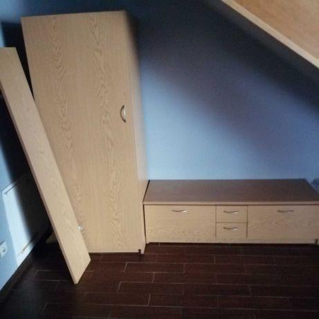 Garderoba szafa półka