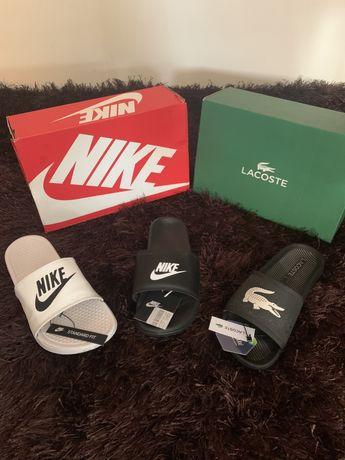 Chinelos Nike e Lacoste  Originais