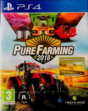 Pure Farming 2018 Ps4 Playstation 4 Nowa Folia [Pl]