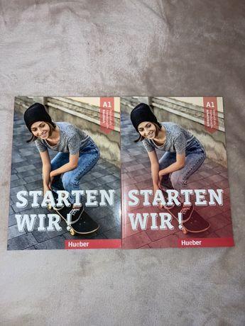 Starten wir A1, Kursbuch + Arbeitsbuch / Учебник + Тетрадь (комплект)