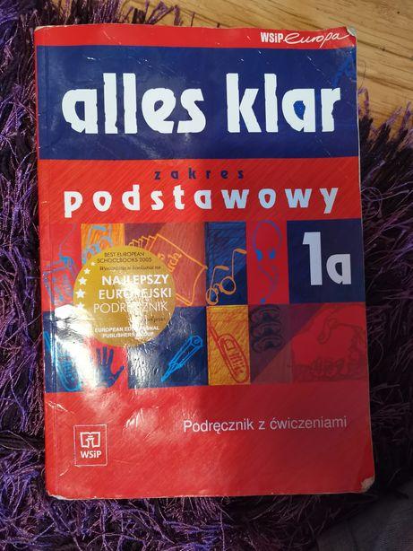 Alles klar 1a klasa 1podręcznik z ćwiczeniami niemiecki