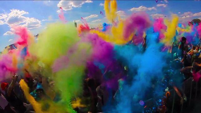 Краска Холи для фестивалей, Фарба Холі, Holi, 100 грамм! Не МУКА!