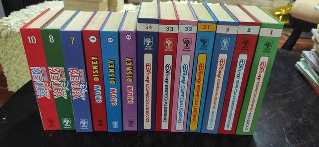 Livros BD Disney (edições antigas dos anos 90)