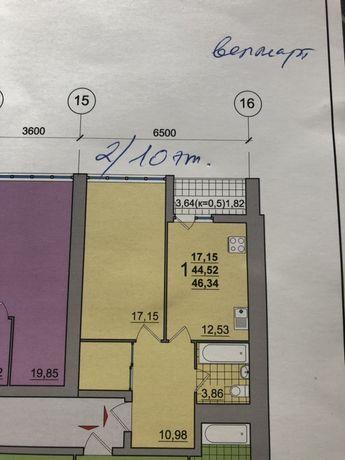 Продажа 1-комнатной Квартиры в 9 доме