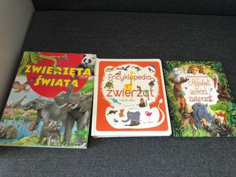 3 książki o zwierzętach