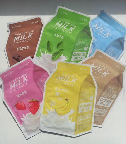 Тканинні маски A'PIEU Milk One Pac