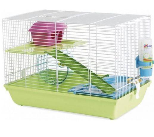 Gaiola grande de hamster+ tansportadora+2 transportadora