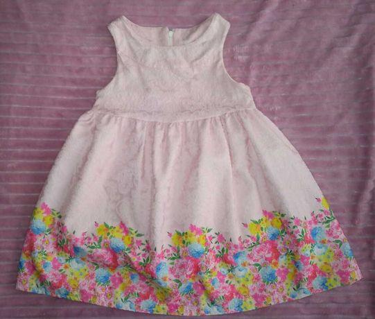 Платье, 2 платья с длинными рукавами и без, 2-3-4года.