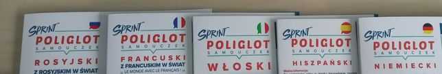 Sprint poliglot (niemiecki, hiszpański, włoski, francuski, rosyjski)