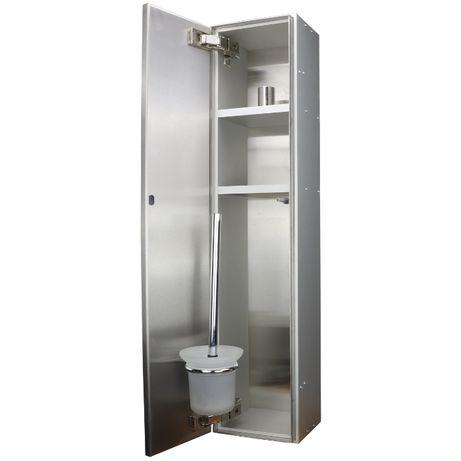Szafka łazienkowa, podtynkowa, schowek WC, moduł WC, szczotka WC
