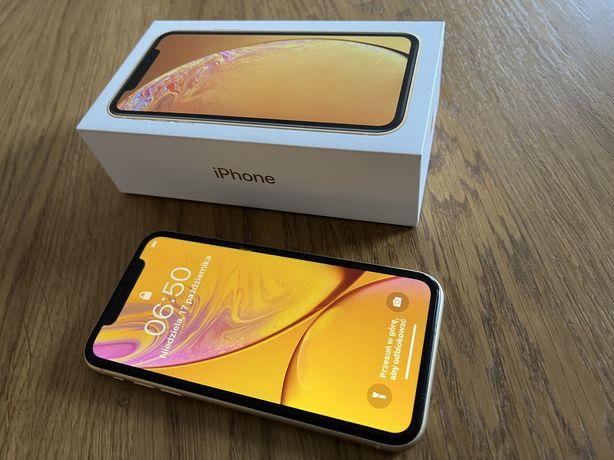 Iphone XR 128GB żółty yellow stan bdb