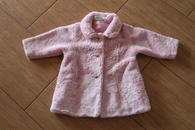 Piękny płaszczyk/futerko dla księżniczki - NEXT w rozmiarze 86/92 cm