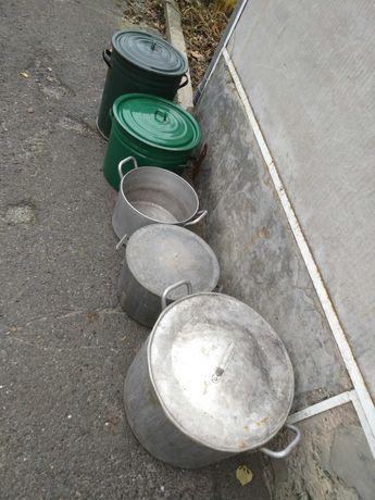 Кастрюли 20, 40, 60 литров
