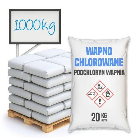 Wapno chlorowane, podchloryn wapnia 1000 kg - wysyłka kurierem
