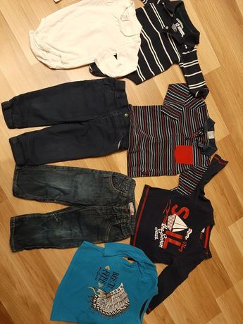 Ubrania dla chłopca roz. 86