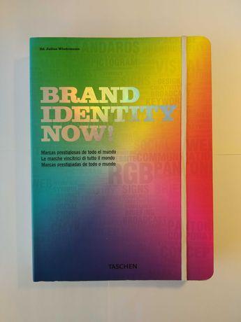 Livro Brand Identity Now! - TASCHEN - Design