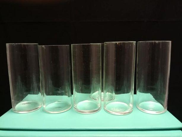 Conjunto 6 mini jarras ou solitários antigos
